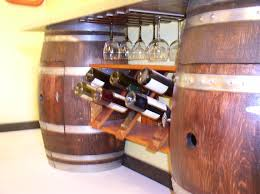 wine barrel furniture wine wine cellar wine barrel bar arched napa valley wine barrel