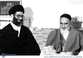 Image result for عکس امام خمینی وخامنه ای