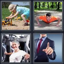 4 Pics 1 <b>Word</b> Answer for Play, Exercise, Gym, <b>Point</b> | Heavy.com