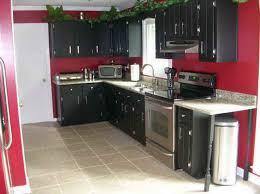black panting kitchen dinner