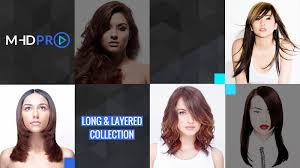 save % off all online hairdressing courses long layered collection