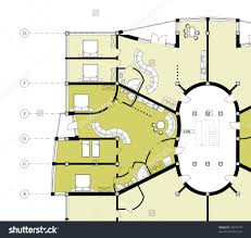 office large size modern building cad architectural apartment plan blueprint drawing save to a lightbox blueprints office desk preview save