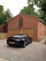 bespoke brickwork garage with office above bespoke brickwork garage office