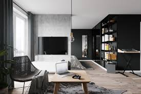 white kitchen windowed partition wall: a look towards the kitchen produces difference once again as its wall space shine within lighter colors more moderate than several black and white kitchen