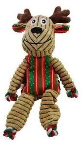 <b>KONG</b> Holiday <b>игрушка</b> для собак <b>Floppy Knots</b> Олень 26 см