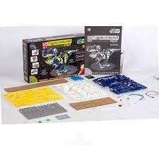 Набор-<b>конструктор Науки</b> с Буки: Гидравлический робот 12 в 1 ...