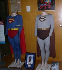 George Reeves' costumes on display, black & white and <b>color</b> ...