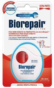 Biorepair Filo Non Cerato Ultrapiatto <b>ультраплоская зубная нить</b> ...