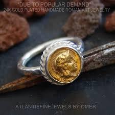 Amazon.com: Omer <b>925 Sterling Silver</b> Ancient <b>Roman</b> Art 2 Tone ...