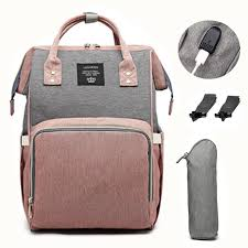<b>LEQUEEN</b> USB Diaper Bag Baby Care Backpack for <b>Mom Mummy</b> ...