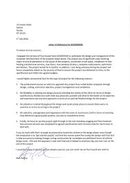 letter of recommendation project manager recommendation letter  letters of recommendation