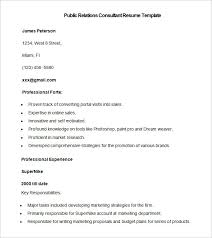 marketing resume templates 37 free samples examples formats pr resume template