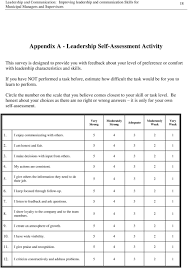 leadership and communication pdf circle the number on the scale that you believe comes closest to your skill or task