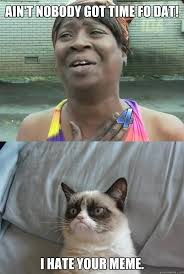 sweet brown and grumpy cat memes | quickmeme via Relatably.com