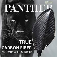 KiWAV <b>Motorcycle</b> Mirrors Panther 100% Carbon Fiber CNC ...