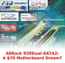 <b>ASRock</b> 939Dual-SATA2: <b>материнская плата</b> с AGP и PCIe | THG.RU