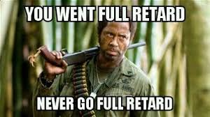 I created a tropic thunder quote haha | Memes and Quotes! | Pinterest