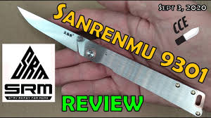Review the <b>Sanrenmu 9301</b>- BEST Budget Gentleman's Folder ...