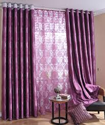 Purple Living Room Curtains Manohome Surprising Dining Room And Kitchen Decoration With
