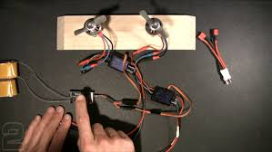 multi engine esc wiring