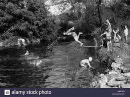 Image result for boys and ducks swimming in a river images