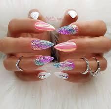 Oh my <b>gosh</b>!!! Dream nails #acrylicnailart | Körömminták ...