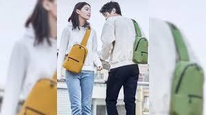 <b>Рюкзак Xiaomi</b> YouPin на одно плечо доступен в трех цветах и ...