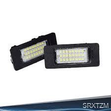 LED License Plate Lights SMD3528 Plate Light <b>For BMW E82 E88</b> ...