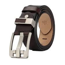 Buy cow genuine leather <b>luxury strap male</b> belts for <b>men new</b> ...