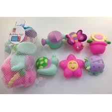 <b>Набор из 6 резиновых</b> игрушек д/купания в сетке 336N03 ...
