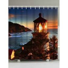 lighthouse sea beacon home decoration office zinc alloy crafts boutique ornaments mediterranean
