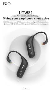 <b>FiiO UTWS1</b> is available now-Giving your earphones a new voice ...