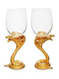 <b>Набор бокалов для вина</b> ''Змея'' Win 3852166 в интернет ...