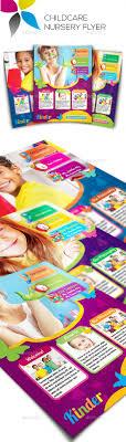 childcare nursery flyer design templates design and flyer template childcare nursery flyer template psd here graphicriver net