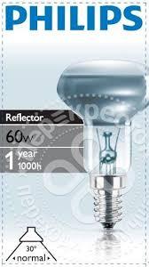 Купить <b>Лампа накаливания Philips</b> Reflector NR50 E14 <b>60Вт</b> с ...