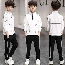 Spring Autumn <b>Boys Clothing Set 2019</b> Kids Tracksuit Long Sleeve ...