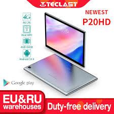 "<b>Teclast P20HD 10.1</b> ""אנדרואיד <b>10</b> Tablet 1920x1200 SC9863A אוקטה ..."