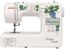 <b>Швейная машинка Janome Grape</b> 2016 - купить во Владикавказе ...