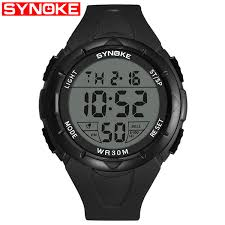 <b>SYNOKE</b> Multifunctional <b>Outdoor Sports</b> Electronic Watch For ...