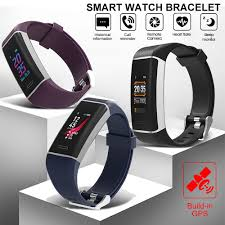 <b>W7 Sport Smart Bracelet</b> Fitness Bracelet with GPS 24 Sports Modes ...