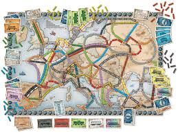 ticket to ride europe game amazon co uk toys games view larger