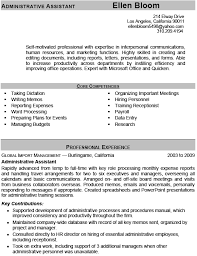 administrative assistant resume example