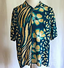 Jams World Zeblossom Blue <b>Floral Zebra Hawaiian</b> Shirt Aloha ...