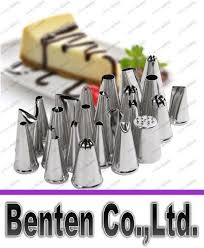 2018 Stainless Steel Diy Icing <b>Nozzles Pastry</b> Tips <b>Cake Ice Cream</b> ...