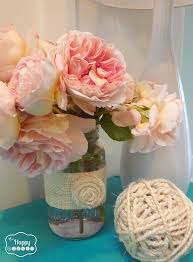 Decorating With Burlap Simple Summer Decorating With Sisal Burlap And Blooms The