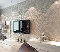<b>QIHANG Modern Luxury</b> Abstract Curve 3D Wallpaper Roll Mural ...
