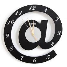 modern fashion creative shape alphabet wall clock art craft embellishment accessories for home office buy shape home office