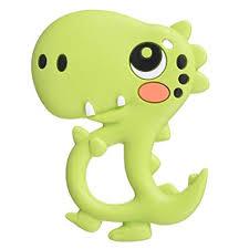 BBBiteMe Dinosaur Baby Teether - BPA Free ... - Amazon.com