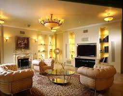 ceiling lights and wall lighting ideas in luxury living area interior ceiling lighting living room