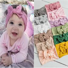 New <b>Fashion Big</b> bowknot <b>Headband</b> Baby girls <b>Bow</b> hair band ...